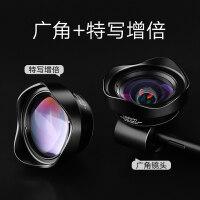 广角手机镜头单反摄像头外置高清长焦鱼眼微距三合一套装通用
