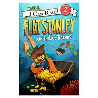 英文原版 Flat Stanley and the Lost Treasure[4-8岁]