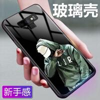 2018新款 三星Note9 SM-N9600手机壳 玻璃潮牌男款3星闹特9保护套防摔个性软