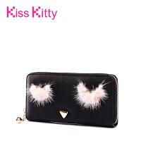 Kiss Kitty2017新款可爱短款钱包女学生零钱包韩版迷你拉链钱夹潮