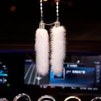 汽车装饰用品大全创意女神款漂亮内饰车上车载香水摆件挂件套装钻