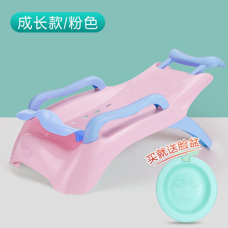 儿童可折叠躺椅宝宝洗头椅小孩洗头床加大号婴儿洗发架浴床浴盆XHL