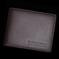英菲丹顿 男士短款钱包长款钱夹 韩版潮商务休闲男手包卡包皮夹
