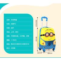 新款儿童拉杆箱18寸小黄人男孩万向轮卡通女行李学生旅行箱拖箱