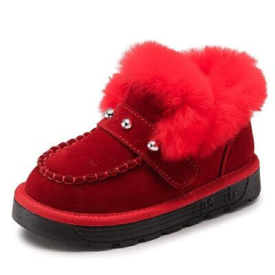 女童棉鞋2018新款秋冬季加绒加厚保暖韩版冬鞋子儿童鞋男童二棉鞋   全店商品限时3件7折,一件9折,2件8折。全店商品限时3件7折,一件9折,2件8