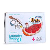 韩国Sanita U-ZA 婴幼儿柚子温和护肤去污除渍洗衣皂四联装176g*4
