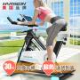 【美国品牌】HARISON 汉臣动感单车家用静音室内健身车 健身器材 SHARP X2