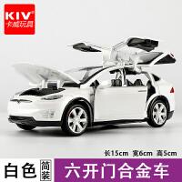 卡威男孩玩具车越野车合金车模 儿童玩具仿真汽车模型声光回力车