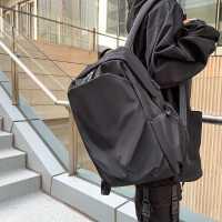 男士双肩背包时尚潮流旅行轻便原宿旅游电脑包休闲高中大学生书包