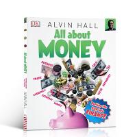 现货 货币百科 All About Money儿童趣味学习阅读科普图画书启蒙孩子对于金钱的理解DK百科全书儿童趣味学习阅