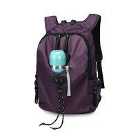 尼龙双肩包书包背包登山旅行包休闲个性化潮男女包可放水杯 20-35升