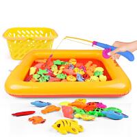 【悦乐朵玩具】儿童50件套塑料磁性钓鱼玩具