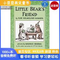 英文绘本 原版进口Little Bear's Friend 小熊的朋友 [4-8岁]