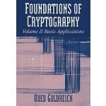 【预订】Foundations of Cryptography: Volume 2, Basic Applicatio