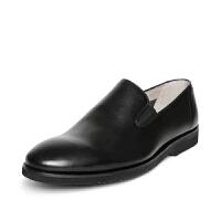 Clarks其乐男鞋套脚软皮舒适休闲鞋Tulik Sun专柜正品