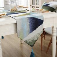 欧式餐桌布盖布茶几布简约现代蕾丝桌旗桌布餐旗长条床旗床尾巾