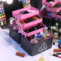 化妆包韩国大容量3ce收纳包手提便携简约洗漱包多功能大号化妆箱