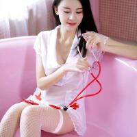 护士装情趣内衣开裆女佣可爱女仆性感学生诱惑套装制服和服风
