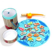 钓鱼玩具磁性女孩一岁半宝宝玩具1-2-3岁男孩儿童早教