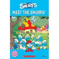 Popcorn Readers: 认识蓝精灵!(书+CD)The Smurfs: Meet the Smurfs! (P