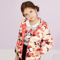 美特斯邦威旗下 moomoo童装女童羽绒服短款冬季纯色中大童保暖轻薄连帽外套