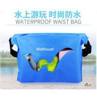时尚防水漂流收纳包户外旅行防水袋腰包杂物袋海滩游泳相机潜水套手机袋