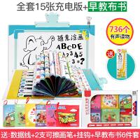 点读机3-6岁幼儿童早教点读书0-3-6岁宝宝有声挂图学习机中英语拼音识字发声A