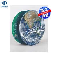 预售英文原版 Earth: 100 Piece Puzzle 地球:100块拼图 低幼英语益智启蒙星球认知趣味游戏读物