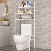家居生活用品浴室卫生间多功能马桶架置物架厕所整理架落地洗衣机架层架 白色
