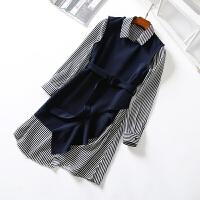 女装春韩版修身两件套连衣裙女 荷叶边背心裙时尚套装裙子女