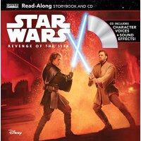 Star Wars: Revenge of the Sith Read-Along Storybook and CD 《星球大战:西斯的复仇》朗读书+CD