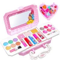 迪士尼冰雪奇缘儿童化妆品套装眼影指甲油公主美妆盒女孩无毒玩具