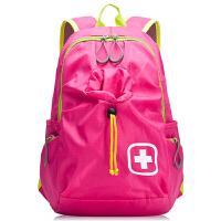 瑞士军刀轻 双肩包可折叠便时尚大容量手提旅行迷你休闲双肩背包