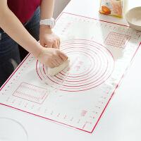 加厚硅胶揉面垫案板面板厨房烘焙工具大号和面垫子防滑擀面硅胶垫