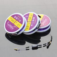 鱼线钓鱼用品手工钓鱼线主线子线台钓渔线海竿路亚鱼线组套装10个装 3.6米 1.0