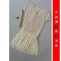 [143-222]羊毛马海毛羊驼毛连衣裙0.26