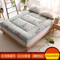 水洗棉加厚床�|榻榻米床�|�W生宿舍1.5m1.8米床�稳穗p人床�|