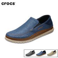 Crocs卡骆驰男鞋 夏季新款圣克鲁兹帆布鞋男休闲便鞋|204835