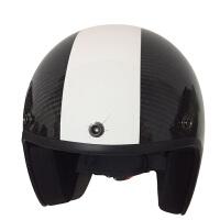 古宾 -361碳纤维头盔摩托车头盔半盔哈雷太子盔复古盔安全帽 瑕疵品