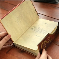 复古魔法笔记磁扣本欧式日记本彩页笔记本随身计划日程本礼物