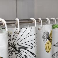 卫生间浴帘套装浴室淋浴房门帘子挂帘遮挡隔断帘窗户拉帘
