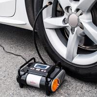 车载充气泵便携式12v汽车用轮胎打气泵电动加气泵