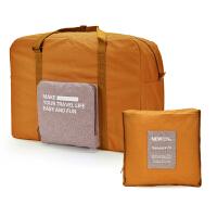 手提旅行包 女帆布轻便简约折叠包 行李袋出差短途旅行收纳包大容量 大