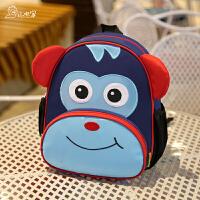 宝宝幼儿园书包儿童1-3-5岁男女童旅游防走失背包可爱休闲双肩包
