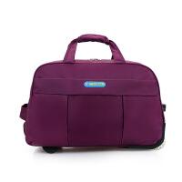 2018新款男士牛津布旅行拉杆包大容量行李包商务休闲旅游包20/24英寸出国登机箱