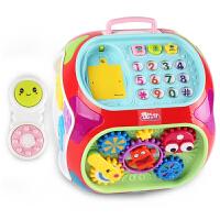 玩具智慧屋儿童多功能游戏桌宝宝学习桌益智玩具1-3岁七面体学习机男孩女