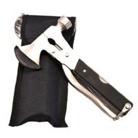 户外工具 多功能锤斧 多功能锤 便携式救生斧头锤榔头