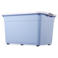 收纳箱塑料整理箱衣服玩具被子储物箱储蓄盒特大号批发三件套