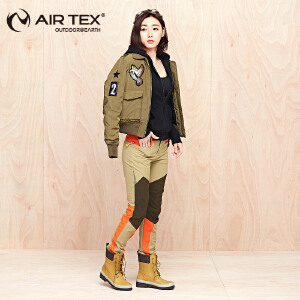 AIRTEX英国亚特冲锋裤女秋冬季户外防风加绒保暖登山滑雪长裤女士运动登山裤