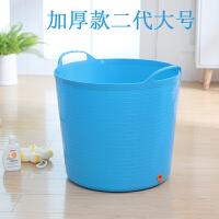 家用大号加厚儿童洗澡桶宝宝浴桶泡澡桶塑料沐浴桶婴儿浴盆澡盆